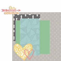 Forever Family: Our Great Adventure 2 Piece Laser Die Cut Kit