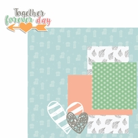 Forever Family: Together Forever Day 2 Piece Laser Die Cut Kit