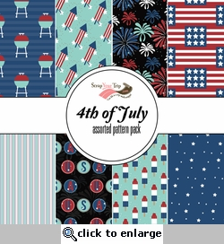 Fourth of July Assorted 12 x 12 Paper Pack