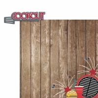 Freedom: Cookout 2 Piece Laser Die Cut Kit
