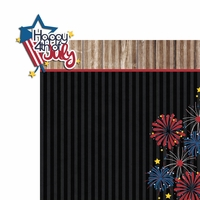 Freedom: Happy 4th 2 Piece Laser Die Cut Kit