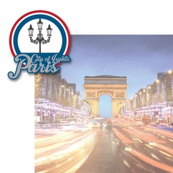 French Adventures: City of Lights 2 Piece Laser Die Cut Kit