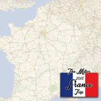 French Adventures Custom 12 x 12 Paper