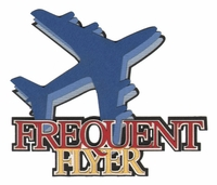 Frequent Flyer Laser Die Cut