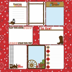 1SYT Frontier Land: 12 x 12 Journaling Cards