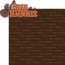 Frontier Land: Bear Jamboree Laser Die Cut Kit