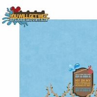 Frontierland: Splash Mountain 2 Piece Laser Die Cut Kit