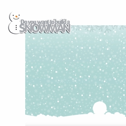 Frosty Fun: Build Snowman 2 Piece Laser Die Cut Kit