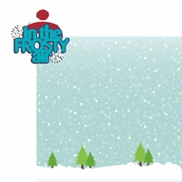 Frosty Fun: Frosty Air 2 Piece Laser Die Cut Kit