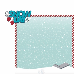 Frosty Fun: Snow Day 2 Piece Laser Die Cut Kit