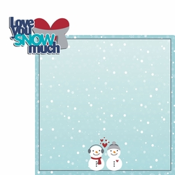 Frosty Fun: Snow Much 2 Piece Laser Die Cut Kit