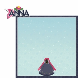 Frozen: Anna 2 Piece Laser Die Cut Kit