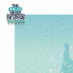 Frozen: Cold Never 2 Piece Laser Die Cut Kit