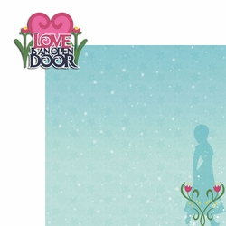Frozen: Love is 2 Piece Laser Die Cut Kit