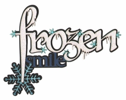 Frozen Smile Laser Die Cut