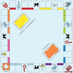 Fun And Games: Monopoly 12 x 12 Paper