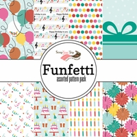 Funfetti Assorted 12 x 12 Paper Pack