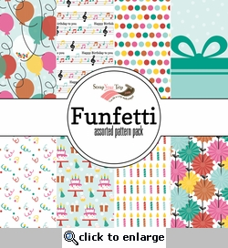 1SYT Funfetti Assorted 12 x 12 Paper Pack