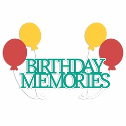Funfetti: Birthday Memories Laser Die Cut