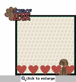 Furever: Licks of Love  2 Piece Laser Die Cut Kit