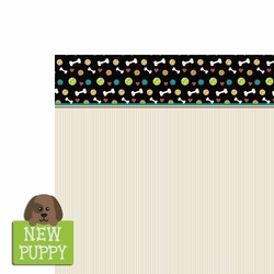 Furever: New Puppy 2 Piece Laser Die Cut Kit