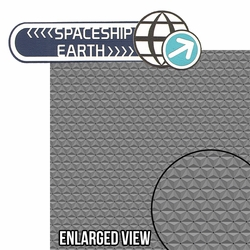 Future World: Spaceship Earth 2 Piece Laser Die Cut Kit