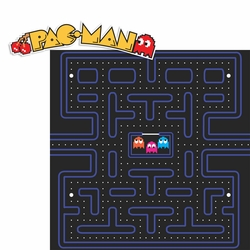 Gamer: Pac Man 2 Piece Laser Die Cut Kit