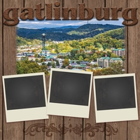 Gatlinburg 12 x 12 Paper