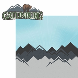 Gatlinburg 2 Piece Laser Die Cut Kit