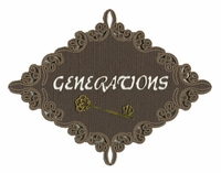 Generations With Key Laser Die Cut