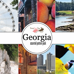 Georgia Assorted 12 x 12 Paper Pack