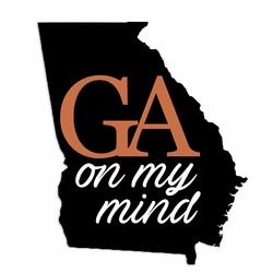 Georgia: On My Mind Laser Die Cut