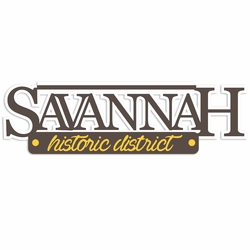 Georgia: Savannah Laser Die Cut