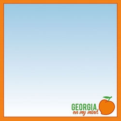 Georgia Travels: GA Atlanta 12 x 12 Paper