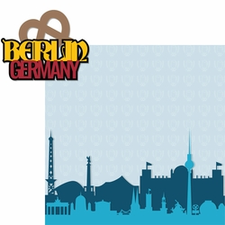 Germany: Berlin 2 Piece Laser Die Cut Kit