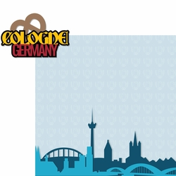 Germany: Cologne 2 Piece Laser Die Cut Kit