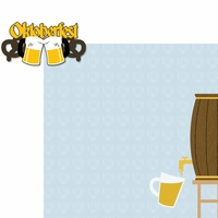 Germany: Oktoberfest 2 Piece Laser Die Cut Kit