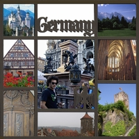 Germany Photo Overlay Laser Die Cut