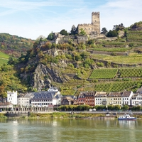 Germany: Rhine Valley 12 x 12 Paper