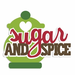 Gingerbread: Sugar and Spice Laser Die Cut