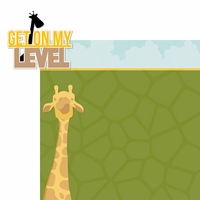 Giraffe Days: Get On My Level 2 Piece Laser Die Cut Kit