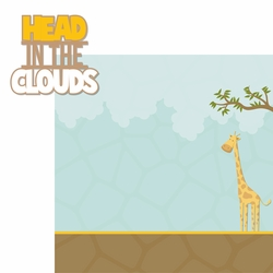 Giraffe Days: Head In The Clouds 2 Piece Laser Die Cut Kit