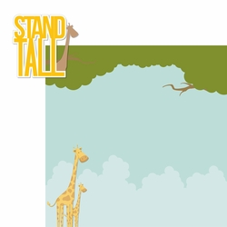 Giraffe Days: Stand Tall 2 Piece Laser Die Cut Kit