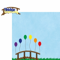 Girl Scouts: Bridge Ceremony 2 Piece Laser Die Cut Kit