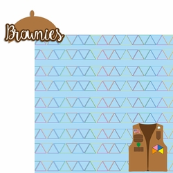 Girl Scouts: Brownie 2 Piece Laser Die Cut Kit