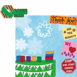 Girl Scouts: Cookie Time 2 Piece Laser Die Cut Kit