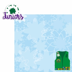 Girl Scouts: Juniors 2 Piece Laser Die Cut Kit