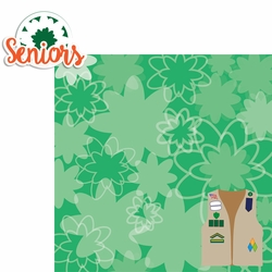 Girl Scouts: Seniors 2 Piece Laser Die Cut Kit