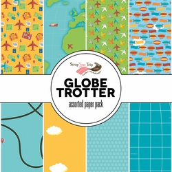 Globe Trotter Assorted 12 x 12 Pattern Pack