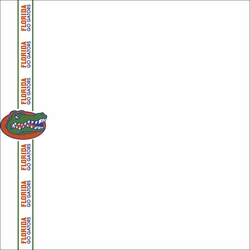 Go Gators: Florida 2 x 12 Paper